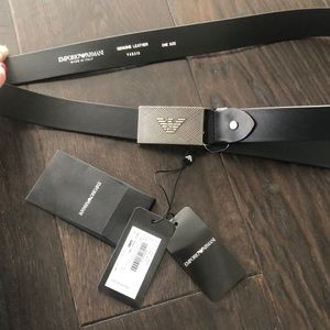 BNWT EMPORIO Armani leather belt. Made in Italy